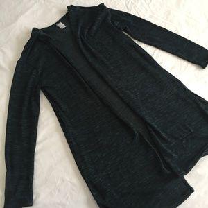Dark Green Soft Cardigan Sweater H&M